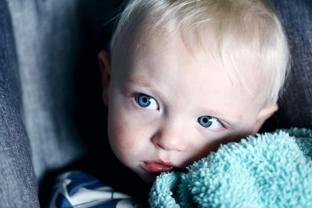 幼子の写真