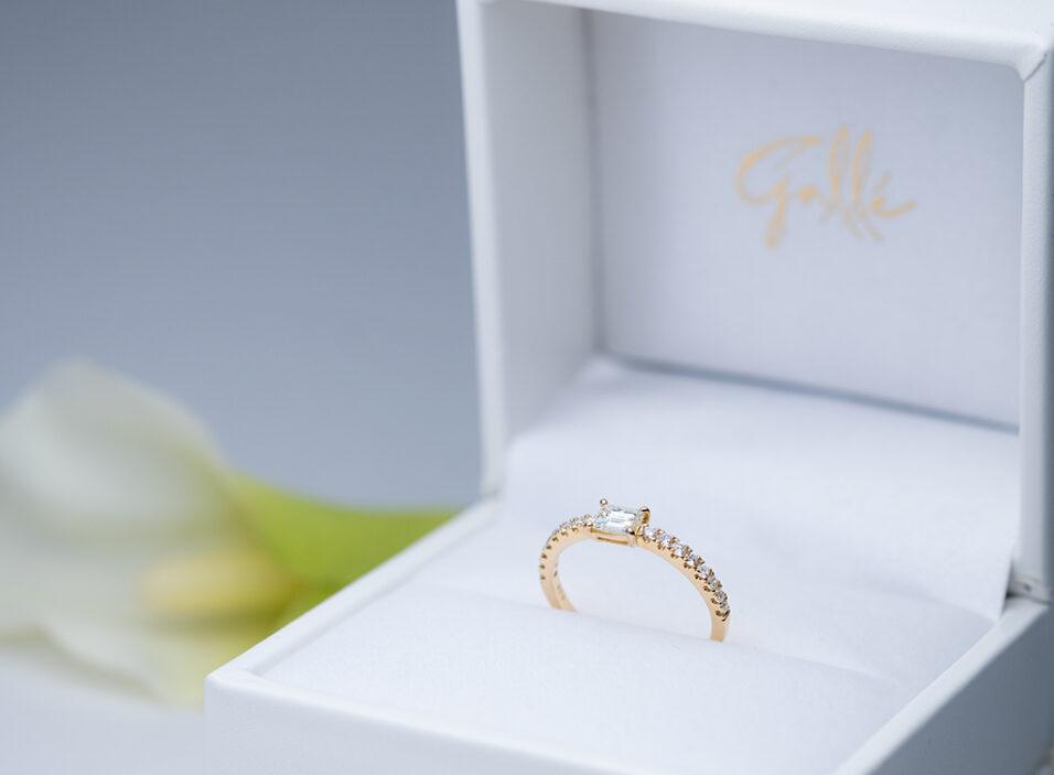 婚約指輪の完成イメージ
