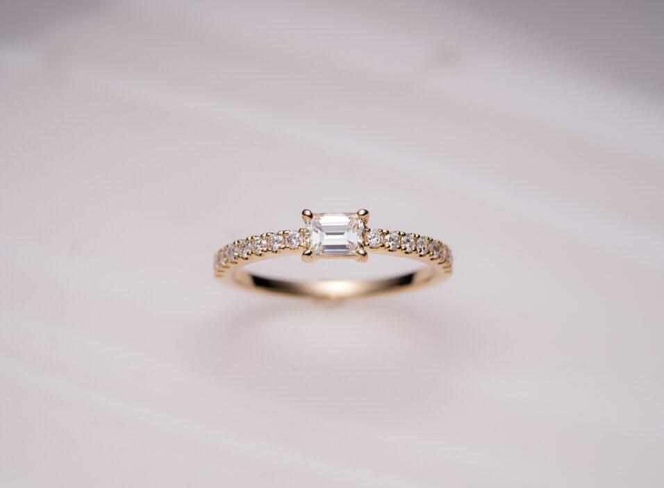 婚約指輪のリング枠②のイメージ