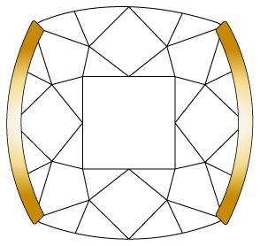 婚約指輪のダイヤモンドを留める爪③のイメージ
