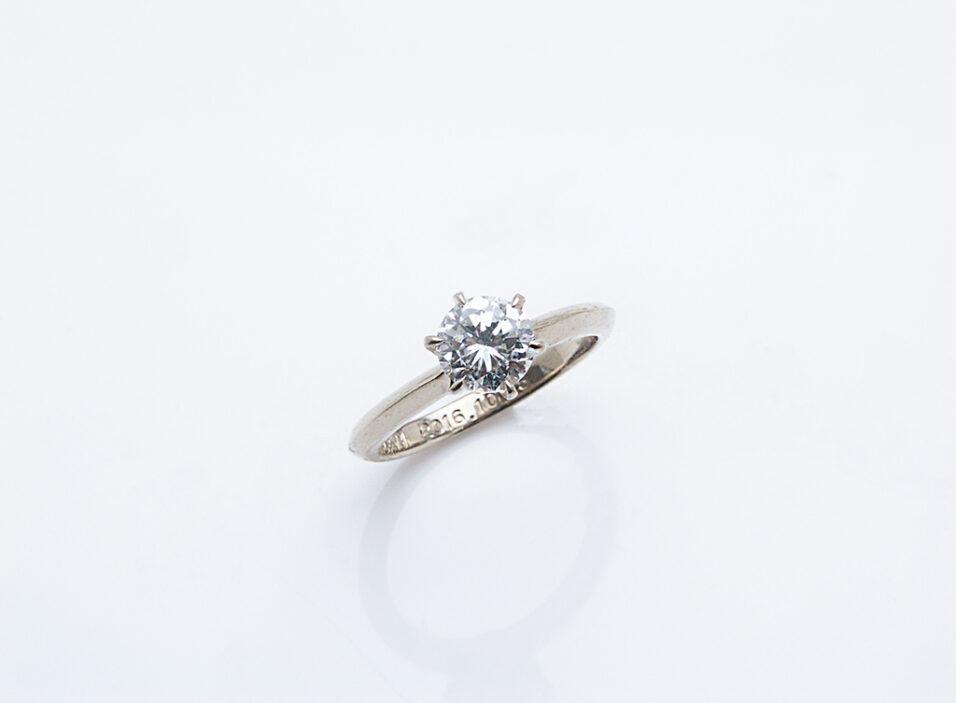 婚約指輪の地金①のイメージ