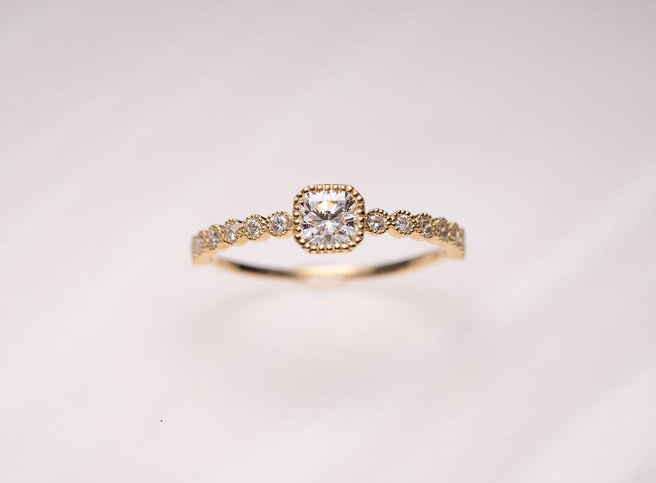 婚約指輪のリング枠③のイメージ