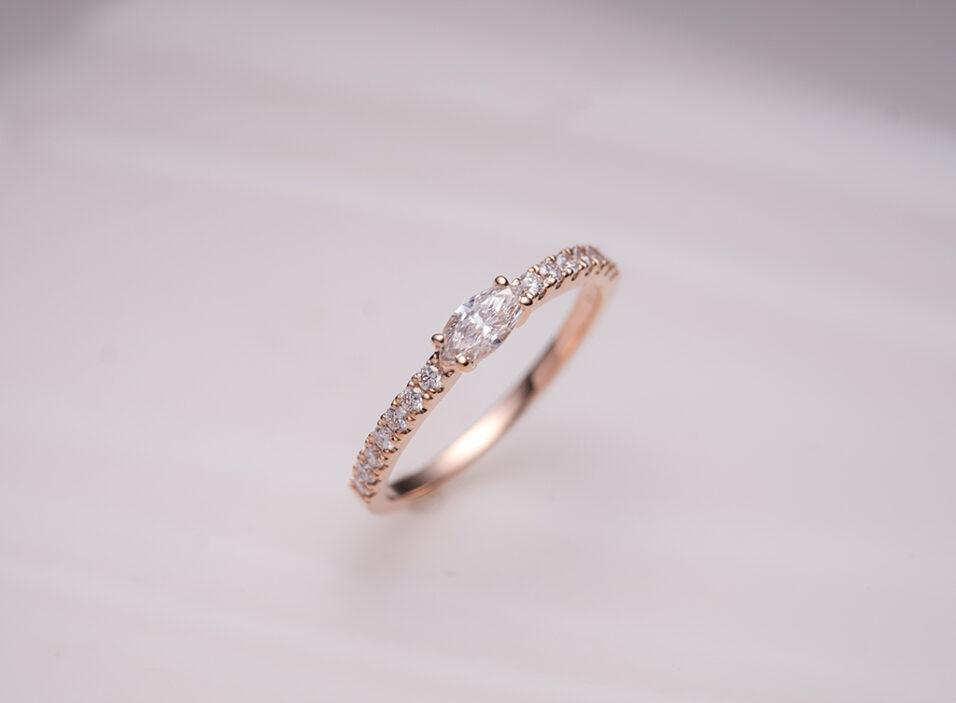 婚約指輪の地金③のイメージ