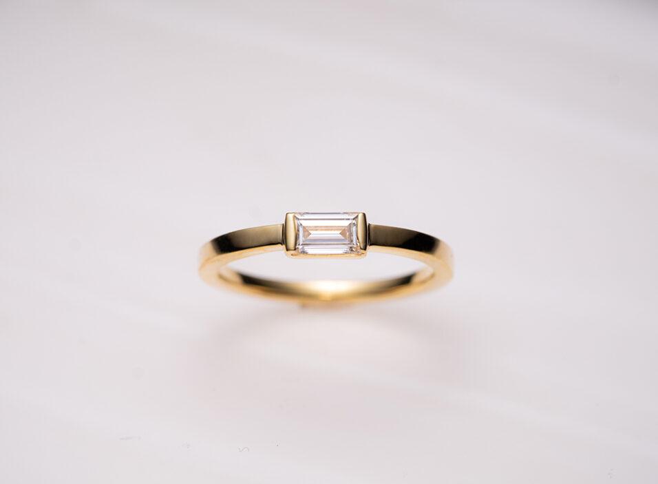 婚約指輪のリング枠①のイメージ