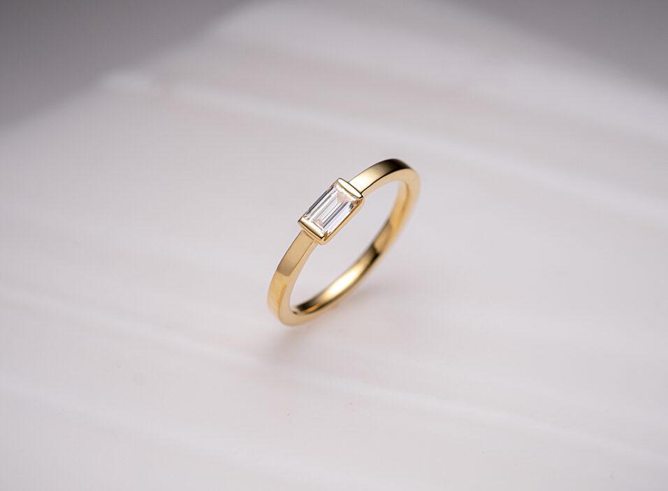 婚約指輪の地金②のイメージ